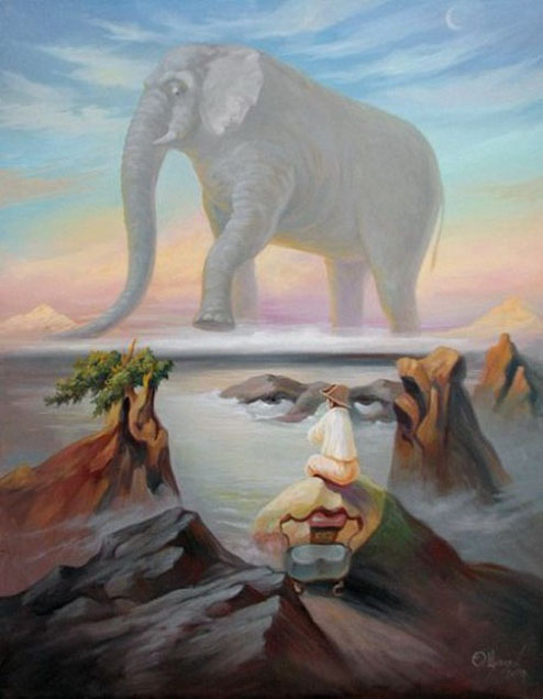 illusion painting