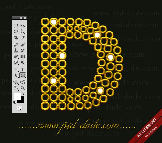 text, gold, text effect, hiệu ứng chữ, tutorial, photoshop