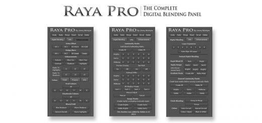 Plugins Raya Pro Panel v1.1 cho Adobe Photoshop CS5 - CC (bản Win)