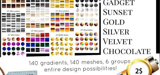 140 gradients and more - Gradients - 1