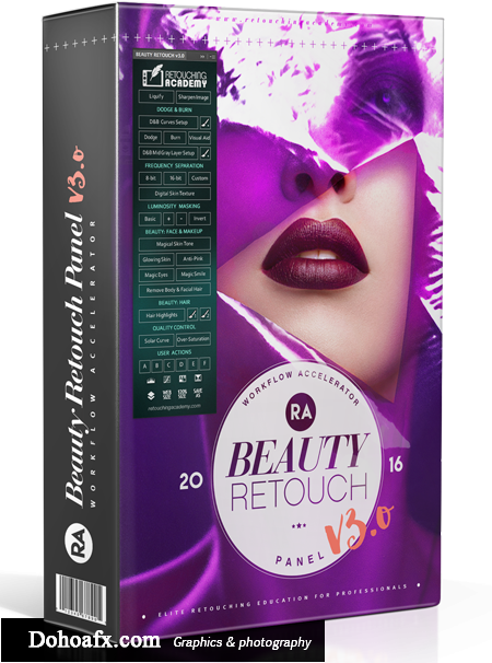 RA Beauty Retouch Panel v3.1 và Pixel Juggler cho CS3 - Photoshop CC 2017